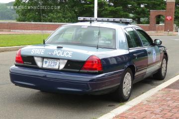 Massachusetts State Police Cruisers